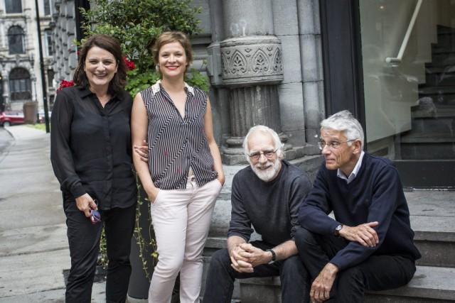 Marie-Thérèse Fortin, Marie-Ève Pelletier et Paul Savoie sont...