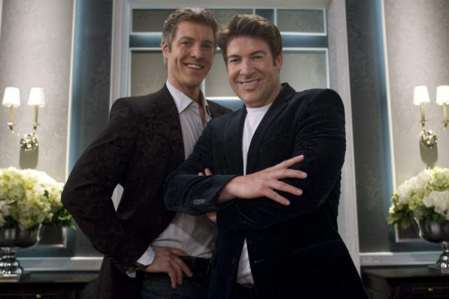 Steven Sabados et Chris Hyndman... (PHOTO ARCHIVES LA PRESSE CANADIENNE)