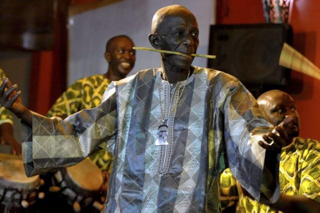 Doudou Ndiaye Rose en 2013.... (PHOTO ARCHIVES AFP)
