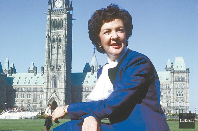 Jocelyne Ouellette a été la première femme ministre... (Archives, LeDroit)
