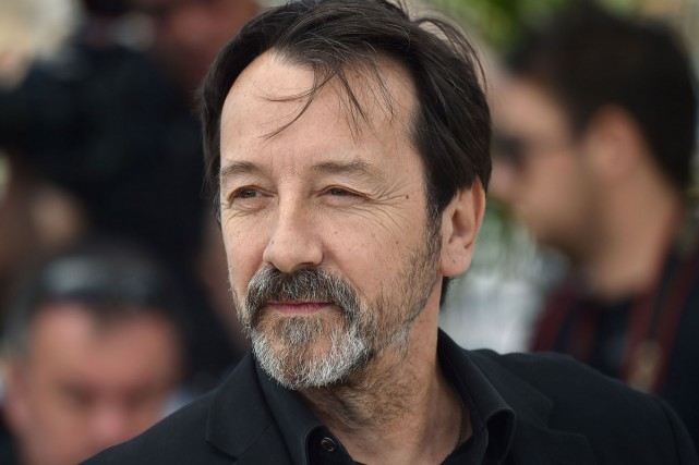 Jean-Hugues Anglade lors du Festival de Cannes en... (PHOTO ARCHIVES AFP)