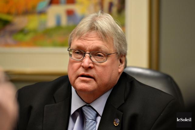 Le ministre québécois de la Santé, Gaétan Barrette... (Photo Patrice Laroche, archives Le Soleil)