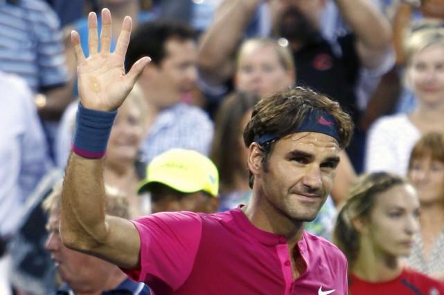 Roger Federer... (PHOTO David Kohl, AP)