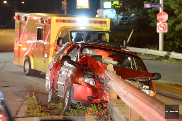Une collision frontale a bien failli se produire vendredi en fin de soirée à... (IMACOM, Maxime Picard)