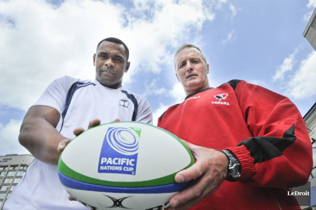L'équipe masculine canadienne de rugby n'a pas joué... (Martin Roy, Archives LeDroit)