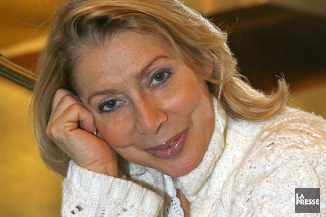 En compagnie de Michèle Richard, Châtelaine, Claude Valade,... (La Presse, Robert Mailloux)