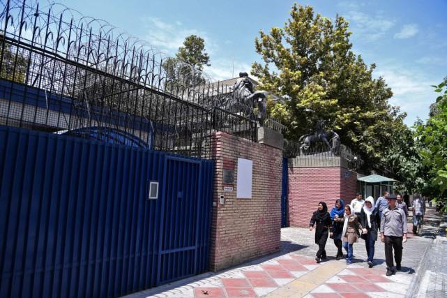 La réouverture de l'ambassade à Téhéran «sera marquée... (Photo Ebrahim Noroozi, AFP)