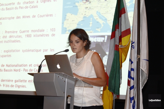 La géologue et urbaniste française Naïma Maziz croit... (- Photo Le Quotidien, Jeannot Lévesque)