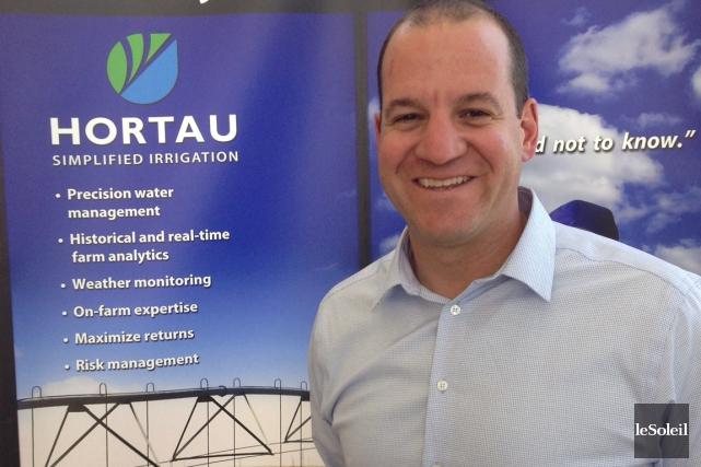 Hortau est une entreprise de Lévis fondée en... (Photothèque Le Soleil)