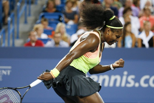 Serena Williams... (Photo John Minchillo, AP)