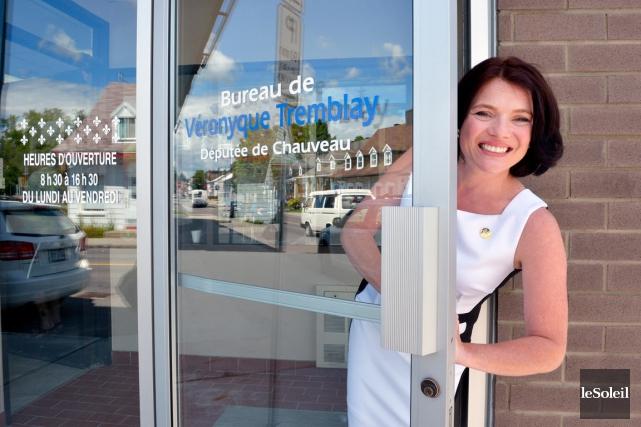 Deux mois après avoir été élue députée de... (Le Soleil, Jean-Marie Villeneuve)