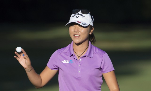 Lydia Ko... (Photo Jonathan Hayward, La Presse Canadienne)