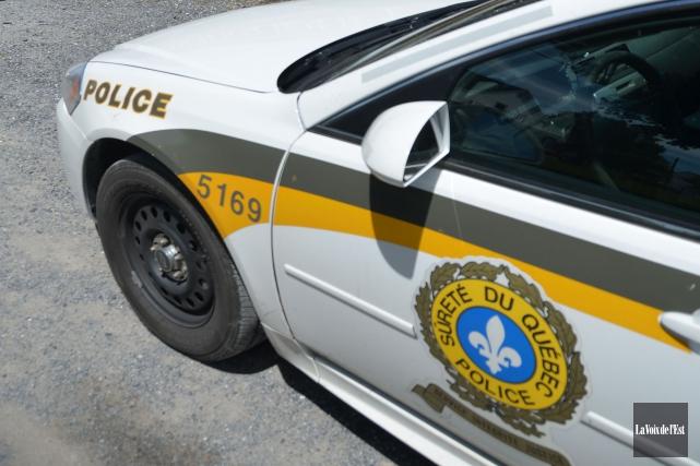 La police a retrouvé dimanche après-midi un quinquagénaire de Saint-Hyacinthe... (PHOTO ARCHIVES LA VOIX DE L'EST)