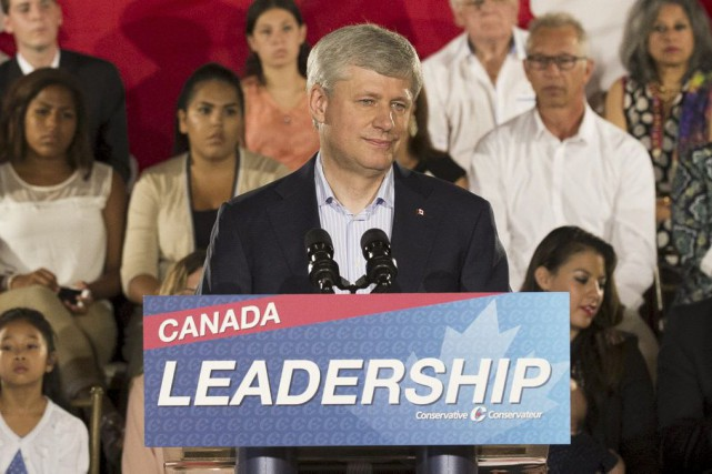 Stephen Harper... (Photo Mark Blinch, Reuters)