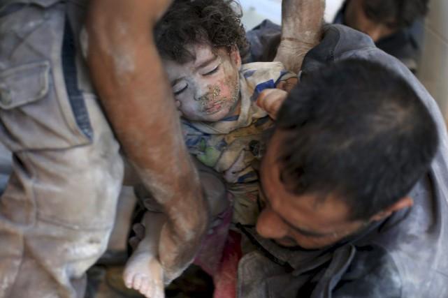 Les forces du président Bachar al-Assad ont de... (Photo Bassam Khabieh, Reuters)