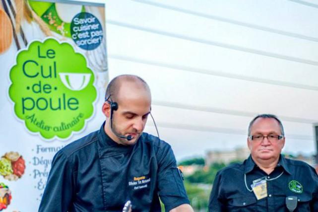 Olivier St-Arnaud, chef exécutif du Restaurant Auguste, alors... (ID Conception)