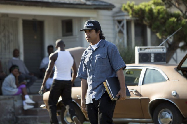 O'Shea Jackson Jr. jouant Ice Cube in Straight... (PHOTO FOURNIE PAR UNIVERSAL)