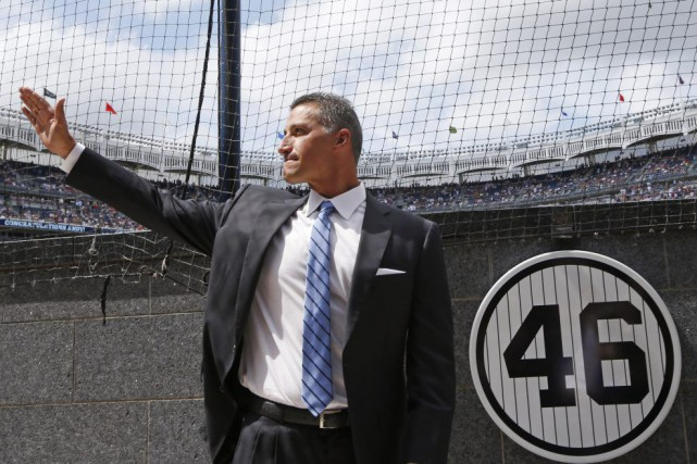 Reconnu pour son intensité au monticule, Pettitte était... (PHOTO KATHY WILLENS, AP)