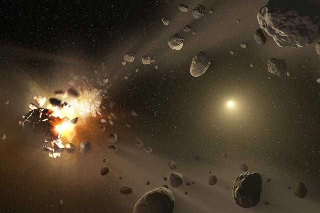 Rappelant les nombreux précédents d'annonces catastrophistes prédisant la... (Illustration AFP/NASA)