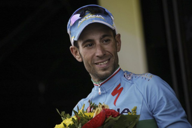 Vincenzo Nibali.... (PHOTO KENZO TRIBOUILLARD, ARCHIVES AFP)