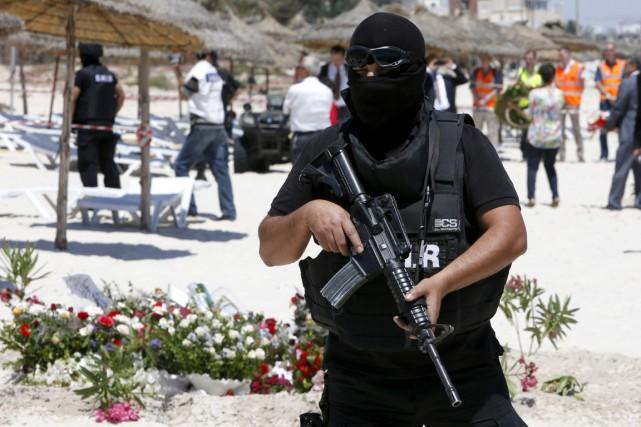 Un agent de la Garde douanière tunisienne a été tué dimanche par des... (Photo archives AP)