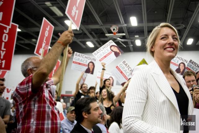 La candidate libérale dans Ahuntsic-Cartierville devra notamment affronter... (PHOTO SARAH MONGEAU-BIRKETT, LA PRESSE)
