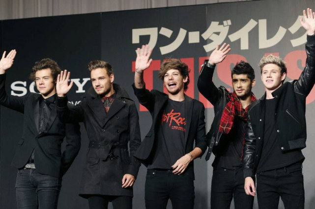Harry Styles, Liam Payne, Louis Tomlinson, Zayn Malik... (PHOTO KOJI SASAHARA, ARCHIVES ASSOCIATED PRESS)