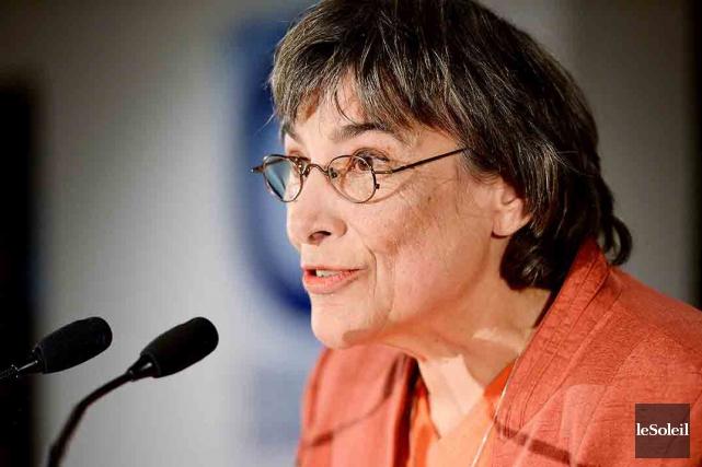 L'ancienne candidate péquiste Dominique Payette s'explique mal l'indignation... (Photothèque Le Soleil, Erick Labbé)