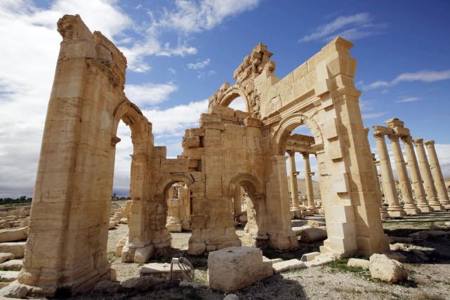 La dernière destruction annoncée dimanche est celle du... (PHOTO JOSEPH EID, ARCHIVES AFP)
