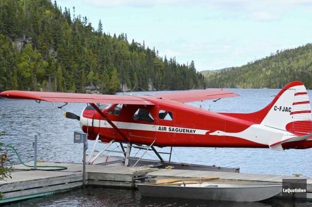 L'hydravion qui s'est écrasé avec possiblement six personnes à son bord, hier,... (Archives Le Quotidien)