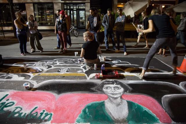 L'avenue du Mont-Royal Est deviendra, de jeudi à dimanche, entre le... (PHOTO FOURNIE PAR LA SDAMR)