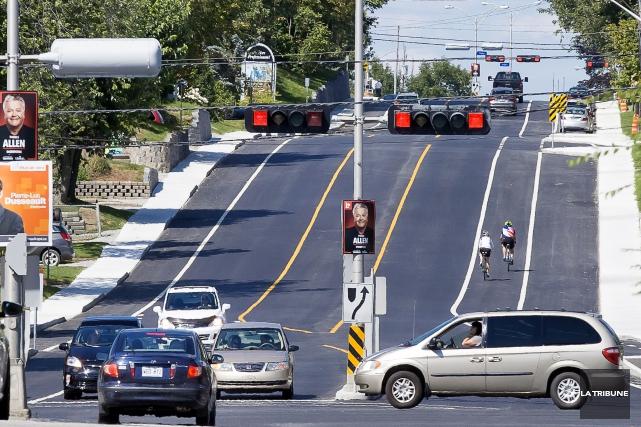 La Ville devrait prolonger la saison des cyclistes... (La Tribune, Jocelyn Riendeau)