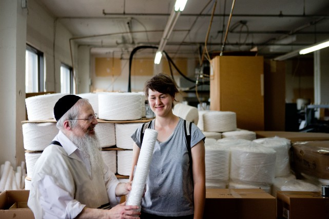 Chaim Moskovits a collaboré avec Chrissy Durcak, propriétaire... (PHOTO MARCO CAMPANOZZI, LA PRESSE)