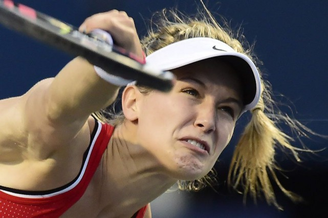 Eugenie Bouchard... (Photo Frank Gunn, archives PC)
