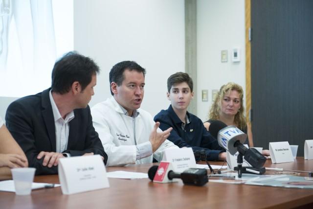 Jonathan Beauvais, un adolescent de 15 ans, est passé à deux doigts de la mort...