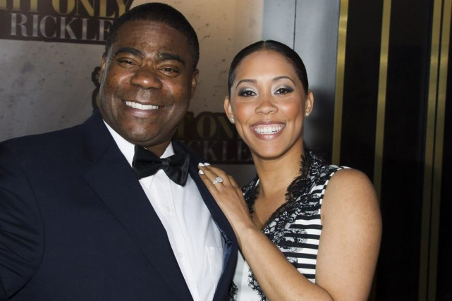 Tracy Morgan et Megan Wollover en mai 2014.... (PHOTO ARCHIVES AP)