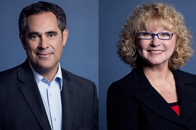 Les députés libéraux Gilles Ouimet et Marguerite Blais.... (Photos tirées du site du PLQ)