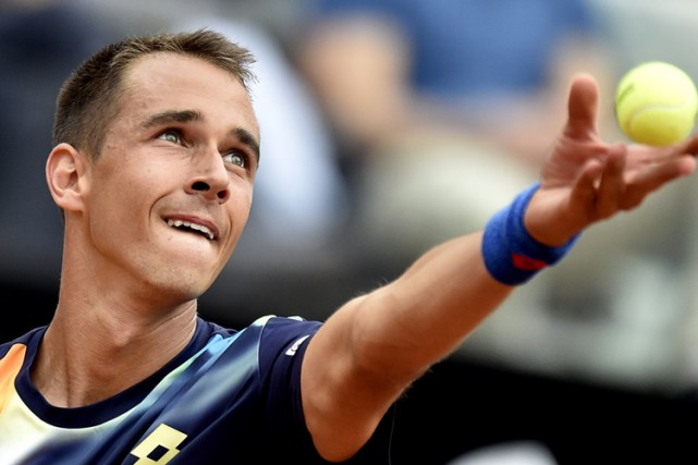 Lukas Rosol... (ARCHIVES AFP)