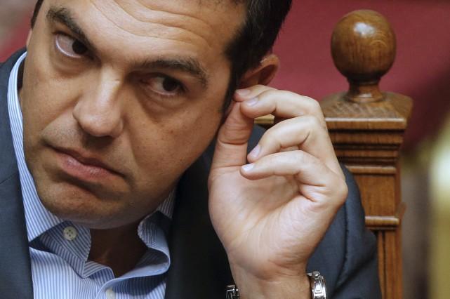 «Le premier ministre grec, Alexis Tsipras, a certainement... (Photo Christian Hartmann, Reuters)