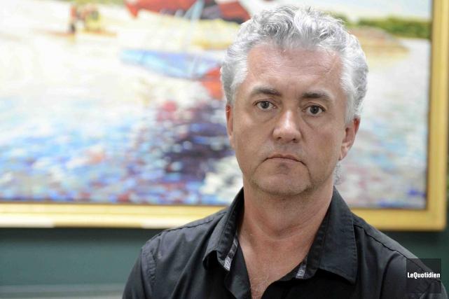 Le vice-président et directeur des opérations d'Air Saguenay,... (Photo Le Quotidien, Jeannot Lévesque)