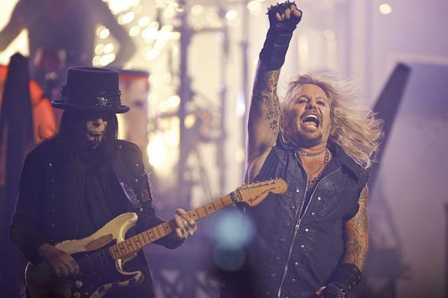 Après 35 ans de service, Mötley Crüe a... (Photothèque La Presse, André Pichette)
