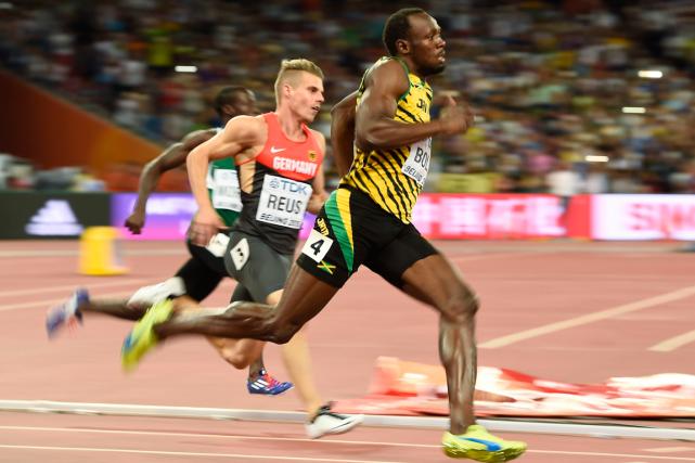 Usain Bolts'est imposé dans la troisième vague en... (Photo Dylan Martinez, Reuters)