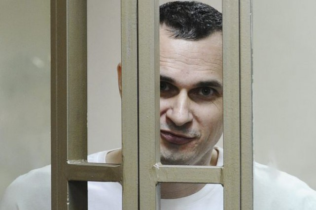 Oleg Sentsov... (PHOTO AP)