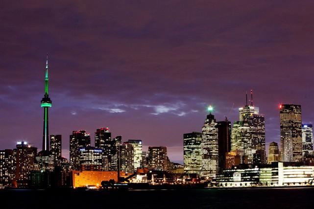 En 1792, Toronto change de nom pour devenir... (Archives, La Presse Canadienne)