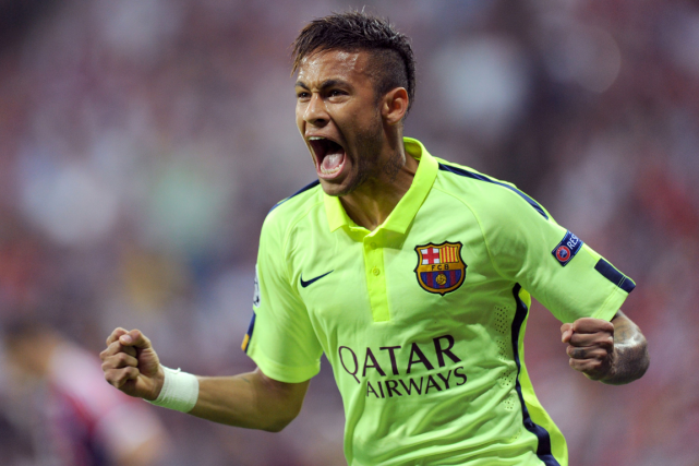 Neymar... (PHOTO AFP)