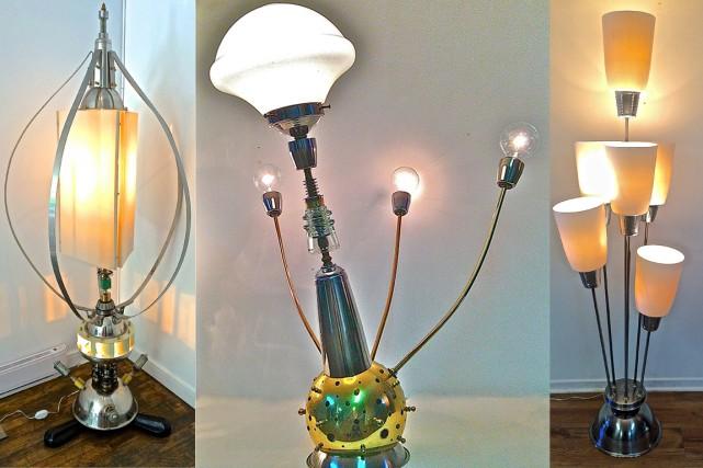 On peut acheter des lampes de Lampi Lampa... (Photo fournie par)