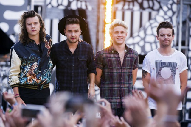 Harry Styles, Liam Payne, Niall Horan et Louis... (Charles Sykes)