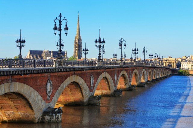 La ville de Bordeaux, en France.... (Photo Digital/Thinkstock)