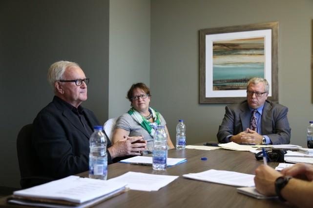 Incapable de faire fléchir le conseil municipal de Sutton, un groupe de... (Julie Catudal)