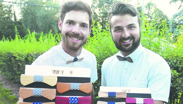 Damien Beaudoin et Jean-Sébastien Laberge sont les deux... (photo Catherine Trudeau)